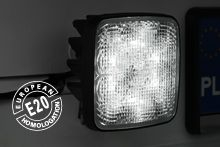 High-quality LED work lamps anyone can afford – WESEM's CRK2 broadly applied in vehicles, now comes also in a version certified for reversing (CRK2-AR)
